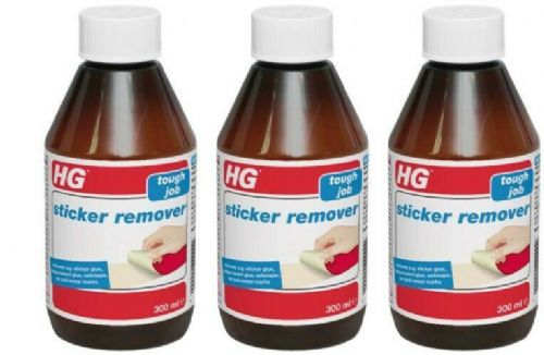 HG Sticker Remover 300ml Pack of 3